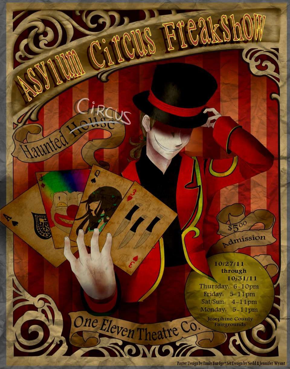 The Haunted Circus Asylum Freakshow ~ Grants Pass Haunted House ...